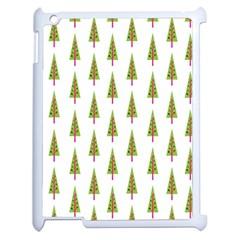 Christmas Tree Apple iPad 2 Case (White)