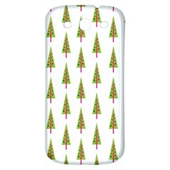 Christmas Tree Samsung Galaxy S3 S III Classic Hardshell Back Case