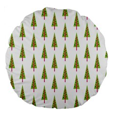Christmas Tree Large 18  Premium Round Cushions