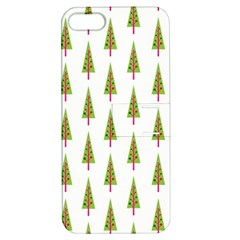 Christmas Tree Apple iPhone 5 Hardshell Case with Stand