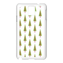 Christmas Tree Samsung Galaxy Note 3 N9005 Case (White)