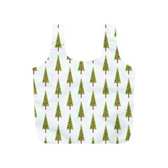 Christmas Tree Full Print Recycle Bags (S)