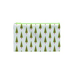 Christmas Tree Cosmetic Bag (XS)