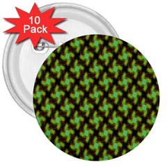 Computer Graphics Graphics Ornament 3  Buttons (10 pack)