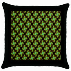 Computer Graphics Graphics Ornament Throw Pillow Case (Black)