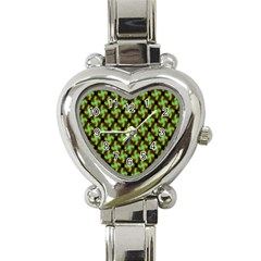 Computer Graphics Graphics Ornament Heart Italian Charm Watch