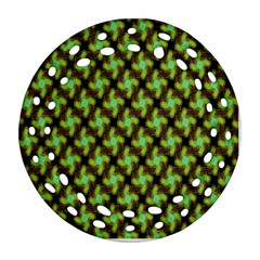 Computer Graphics Graphics Ornament Round Filigree Ornament (Two Sides)