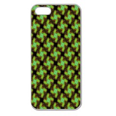 Computer Graphics Graphics Ornament Apple Seamless Iphone 5 Case (clear)