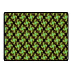 Computer Graphics Graphics Ornament Double Sided Fleece Blanket (Small)