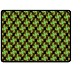 Computer Graphics Graphics Ornament Double Sided Fleece Blanket (Large)