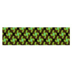 Computer Graphics Graphics Ornament Satin Scarf (Oblong)