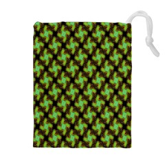 Computer Graphics Graphics Ornament Drawstring Pouches (Extra Large)