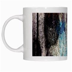 Peelingpaint White Mugs