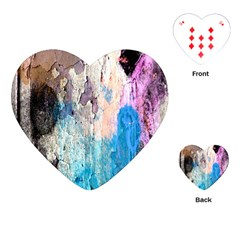 Peelingpaint Playing Cards (Heart)