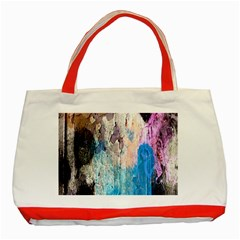 Peelingpaint Classic Tote Bag (Red)