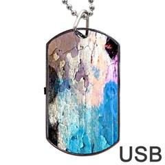 Peelingpaint Dog Tag USB Flash (One Side)