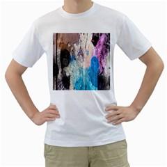 Peelingpaint Men s T-Shirt (White)