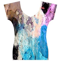 Peelingpaint Women s V-Neck Cap Sleeve Top