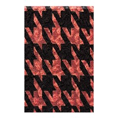 Dogstooth Pattern Closeup Shower Curtain 48  x 72  (Small)