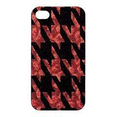 Dogstooth Pattern Closeup Apple iPhone 4/4S Hardshell Case