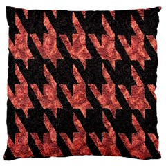 Dogstooth Pattern Closeup Large Cushion Case (One Side)