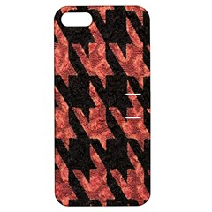 Dogstooth Pattern Closeup Apple iPhone 5 Hardshell Case with Stand