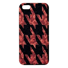 Dogstooth Pattern Closeup Apple iPhone 5 Premium Hardshell Case