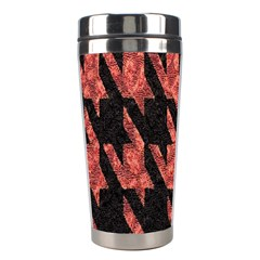 Dogstooth Pattern Closeup Stainless Steel Travel Tumblers