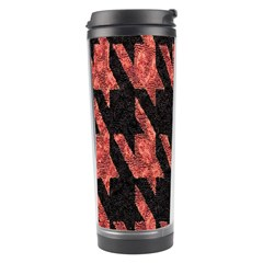 Dogstooth Pattern Closeup Travel Tumbler
