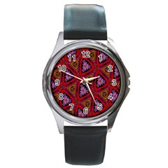 Computer Graphics Graphics Ornament Round Metal Watch