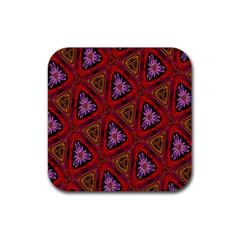 Computer Graphics Graphics Ornament Rubber Coaster (Square)