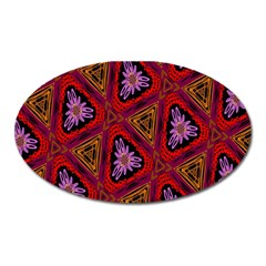 Computer Graphics Graphics Ornament Oval Magnet