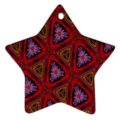 Computer Graphics Graphics Ornament Star Ornament (Two Sides)