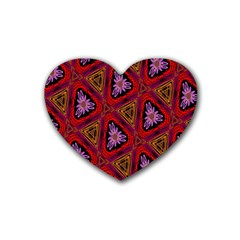 Computer Graphics Graphics Ornament Heart Coaster (4 pack)