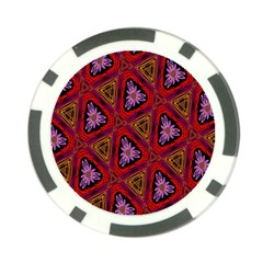 Computer Graphics Graphics Ornament Poker Chip Card Guard (10 pack)