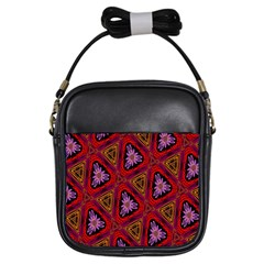 Computer Graphics Graphics Ornament Girls Sling Bags