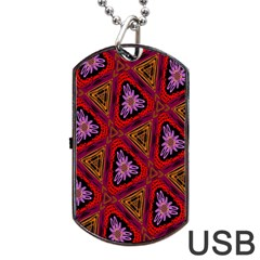 Computer Graphics Graphics Ornament Dog Tag USB Flash (One Side)
