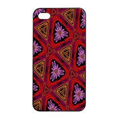 Computer Graphics Graphics Ornament Apple iPhone 4/4s Seamless Case (Black)
