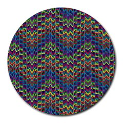 Decorative Ornamental Abstract Round Mousepads