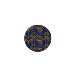Decorative Ornamental Abstract 1  Mini Magnets