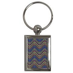 Decorative Ornamental Abstract Key Chains (Rectangle)