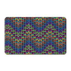Decorative Ornamental Abstract Magnet (Rectangular)