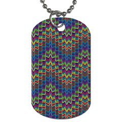 Decorative Ornamental Abstract Dog Tag (One Side)