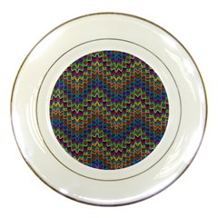 Decorative Ornamental Abstract Porcelain Plates