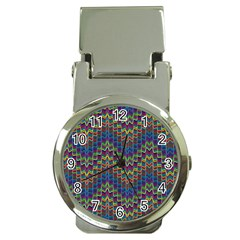 Decorative Ornamental Abstract Money Clip Watches