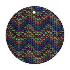 Decorative Ornamental Abstract Round Ornament (Two Sides)