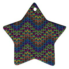 Decorative Ornamental Abstract Star Ornament (Two Sides)