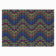 Decorative Ornamental Abstract Large Glasses Cloth