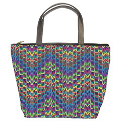 Decorative Ornamental Abstract Bucket Bags