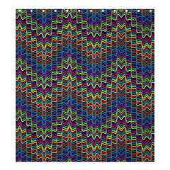 Decorative Ornamental Abstract Shower Curtain 66  x 72  (Large)